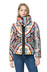 Desigual by L Quilted Multicoloured Print Rebeca Coat 36-46 UK 8-18 RRP?159