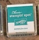 Stampin' Up! New Stampin Spot mini ink pad Retired and Current Colors