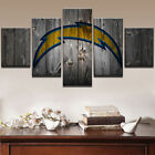 Los Angeles Chargers Paintings Poster Modern Picture Canvas Wall Art Home Decor $27.99 USD on eBay