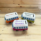 Campervan Money Box  personalised with name free
