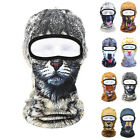 3D Animal Puppy printed Outdoor Bicycle Cycling Ski Hat Balaclava Full Face Mask