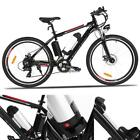 """25"""" Electric Mountain Bike with Removable Lithium-Ion Battery Fast Charge 36V US"""