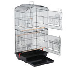 364659616268Large Bird Pet Cage Parrot Finch Cage Macaw Cockatoo Supplies