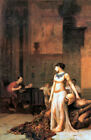 Academic Masterpiece from Roman History: Cleopatra Before Caesar by Gerome