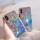 Luxury Fashion Bling Glitter Shockproof Soft Case Cover For iPhoneX 8 7Plus 6 6s