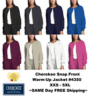 Kyпить Cherokee Nurses Scrub Workwear Snap-Front Jacket Style 4350 **FREE SHIP** ~NEW~ на еВаy.соm