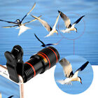 12x Optical Zoom Lens Telescope Telephoto Clip on For Mobile Cell Phone Camera G