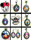 MICKEY MINNIE MOUSE DAISY CHIP DALE CHARM OR NECKLACE PENDANT LOCKET DISNEY