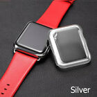 Slim Full Body Cover Snap On Metal Case+Screen Protector For Apple Watch 38 42mm