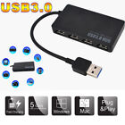 USB 3.0 4-Port USB Hub Splitter Adapter Ultra Speed for Laptop Computer PC Mouse