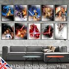Star Wars Style Canvas or Glossy Photo Movie Poster Print Vintage Wall Art A4 £3.19 GBP