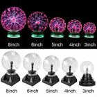 3/4/5/6/8inch 110V Magic Crystal Globe Desktop Lightning Lamp Plasma Ball Sphere