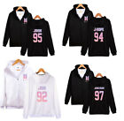 Kpop BTS Coat Bangtan Boys Love Yourself Hoodie Pullover Zipper Jacket JUNG KOOK