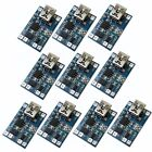 10PCS TP4056 18650 5V Mini USB 1A Lithium Battery Charger Module Charging Board