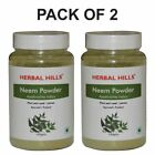 Herbal Hills Natural Pure Neem Leaf Azadirachta Indica Neem Powder Fresh Stock