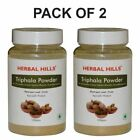 Herbal Hills Triphala Powder New Stock 100% Pure Herbs Powder From India