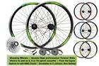 700c Hybrid Bicycle 29er MTB Bike Disc/Rim Front Rear 8/9/10 Speed Wheel Set