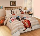 New Multi Designs Luxury Duvet Covers Quilt Covers Reversible Bedding Sets (Mas)
