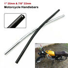 "1'' & 7/8"" Motorcycle Handlebars Drag Bars Iron For Harley Honda Yamaha Ducati $18.61 USD on eBay"