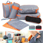 7Pcs Set Waterproof Travel Luggage Storage Bag Packing Clothes Shoes Organizer