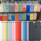 Fashion Original Silicone Cover Ultra-Thin Phone Case For Apple iPhone 8 8 Plus