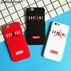Supreme Air Jordan Plastic PC Hard Phone Case Back Cover Bumper Plate For iPhone