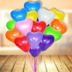 12 Pc 12inch 10 Color Heart Shape Latex Balloons Wedding Party Decoration Helium