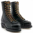 "Wesco 10"" VoltFoe Black Electrical Hazzard Boots Composite Toe"