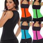 EXTREME Slimming Body Thermo Cami Hot Miss Belt Neoprene Shaper Vest Sweat Black