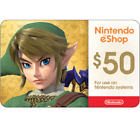 Nintendo eShop Digital Card - $10 $20 $35 $50 - Email delivery  <br/> US Only. May take 4 hours for verification to deliver.