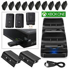 Used, 2Pcs Rechargeable Battery Pack+USB Charging Dock/Dual Charging Dock For Xbox One for sale  Shipping to South Africa