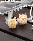 LIZ LISA - Ribbon Rose Earings