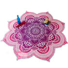 Hippie Mandala Round Towel Indian Tapestry Beach Throw Blanket Picnic Yoga Mat