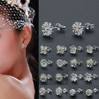 925 Sterling Silver Daisy Flower Beautiful Ear Stud Earrings Jewellery Fashion