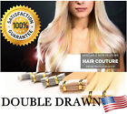 skin weft hair extensions - DOUBLE DRAWN 8A Brazilian Tape In Skin Weft Remy HAIR EXTENSIONS US