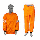 RJS RACING 2 PIECE FIRE SUIT SFI 3-2A/1 JACKET & PANTS ORANGE 3X