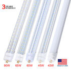 LED Tube Light T8 8 Foot Single Pin FA8 45W 8FT LED Fluorescent Tube Replacement