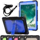 Hybrid Shockproof Rugged Stand Soft Silicone Crystal Back Case For iPad Mini 123