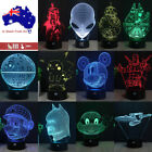 3D Star Wars BB8 Death Star Table Desk Lamp LED Night Light Remote Model Gifts $23.99 AUD