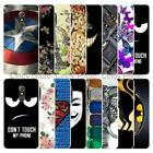 """For Alcatel A7 5090 5090Y 5.5"""" Soft Case Cover Batman Angry Eye Cat Tower Love"""
