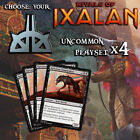 Choose Your Rivals of Ixalan Uncommons - Playset x4 cards - RIX MTG M/NM