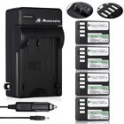 D-LI109 Li-ion Battery & Charger for Pentax K-R K-30 K-50 K-500 K-S1 K-S2 Camera