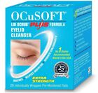 OCUSOFT LID SCRUB PLUS - Extra Strength Blepharitis Wipes