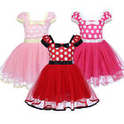 baby girl minnie mouse costume - Baby Kid Girls Minnie Mouse Birthday Party Polka Dot Bow Tutu Dress Costume 1-5T