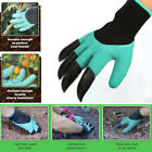1/ 5/10 Pair Genie Garden Gloves with Claws Digging  Planting Durable Waterproof