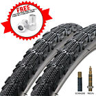 Duro Ellie Mae 700 x 35C CX, Hybrid & Commuting Bicycle Tyres With Inner Tubes