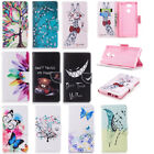 Leather Wallet Flip Magnetic Patterned Case Cover Pouch For Sony Xperia L2 XA2