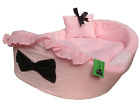 Dog Cat BED with removable pad and pillow for Pet HDP Bassinet