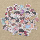 Cartoon KPOP BTS Bangtan Boys DIY Paper Stickers For Luggage Cup Notebook