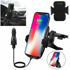 Windshield Wireless Charger Charging Maintain Air Outlet Mount for Samsung Galaxy